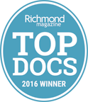 Richmond Magazine Top Docs 2016 Winner